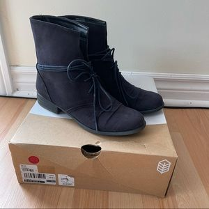 Spring Navy Ankle Boot